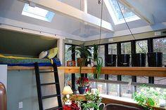 loft and window