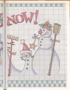 Snowmen's family3