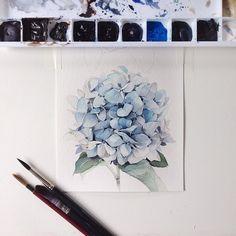 "544 Likes, 2 Comments - Watercolor illustrations (@watercolor.illustrations) on Instagram: "" Watercolorist: @kadantseva_natalia #waterblog #акварель #aquarelle #drawing #art #artist…"""