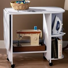 Sewing Table - place for iron and board