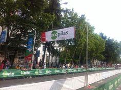 Final de la Vuelta: el sprint más rápido de la Vuelta...