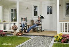 Entspannung pur auf der Porch.