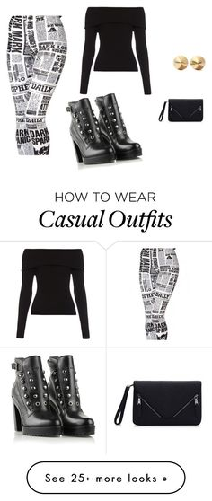 """""""Casual day"""" by maropuegeren on Polyvore featuring A.L.C., Diesel, Eddie Borgo, women's clothing, women, female, woman, misses and juniors"""