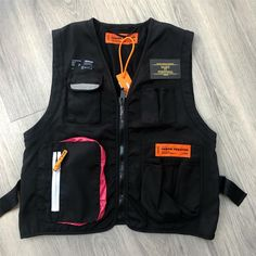 "Make It Personal on Instagram: ""Heron Preston Vest Thanks for the order, off to 🇬🇧 all sizes available 💻: available on request only 📲:+447530193021 📧:…"" Fashion Portfolio, Groom Style, Heron, Preston, Clothing Patterns, Streetwear Fashion, Work Wear, Winter Fashion, Street Wear"