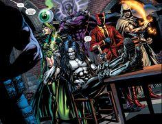 Justice League vs Suicide Squad #1 by Jason Fabok