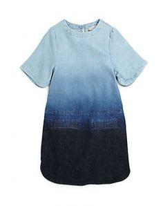 Stella McCartney Kids Girl's Dip-Dyed Denim Dress