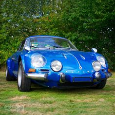 Alpine-Renault... stunning car with a great rally record. One of the best.