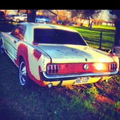 Classic old Mustang