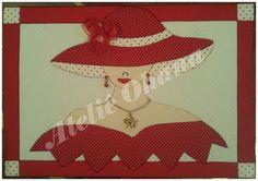 patchwork embutido | Ateliê Ohana: + uma arte da Tia Rô.. Caixa em Patchwork embutido.