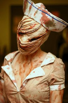 Silent Hill nurse - Ivy's costume this year