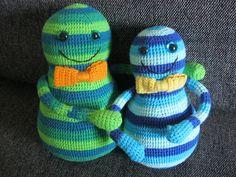 Crochet Fairy: Colourful tumbles
