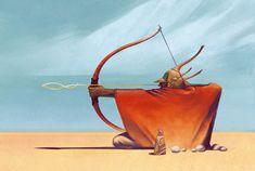 ArtStation - Jean Giraud Moebius Archer - Study, Evan Beaubien