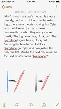Twenty one pilots clique theory wAIT I HEARD THE NEW ALBUM WILL BE BLUE AND SINCE THE BLURRYFACE ERA ENDED SO TYLERS INSECURITIES ENDED??? AND NOW ITS BLUE AGAIN AND IDK