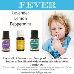 Using Essential Oils for Fevers! www.fb.com/storiesofoiling.com #essential oils for fevers