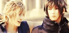 Final Fantasy XV - Prompto x Noctis  Oh here we go xD <3