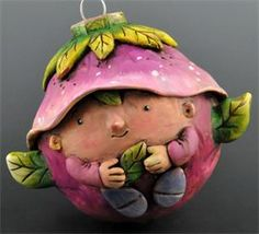 Whimsical Polymer Clay artist Doreen Kassel  She is also a great teacher as well as being incredibly talented