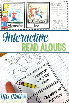 See how we use interactive read aloud text in our kindergarten classroom…