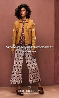 Apparel for world-ready travelers