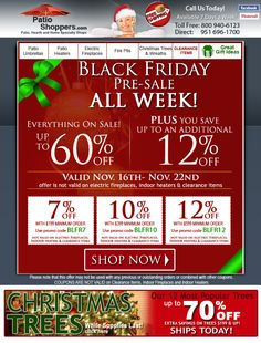 Black Friday Pre Sale All Week! Up To 72% Off Total Savings!