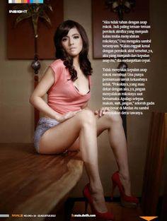 Putri Una Dj Una Skitroll Male Magazine Great Legs Pretty