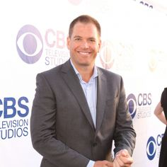 Michael Weatherly on the CBS Summer Soiree Red Carpet