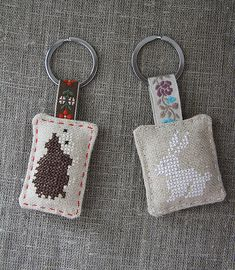 I took a rabbit pattern that I used for my gift bags and made a little hedgehog pattern to keep little rabbit company:)