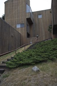Charles W Moore | Condominium One | The Sea Ranch | Sonoma County. California | 1964 Sea Ranch, Sonoma County, Ranch Style, Condominium, Landscape Architecture, Mid-century Modern, Shed, The Unit, California