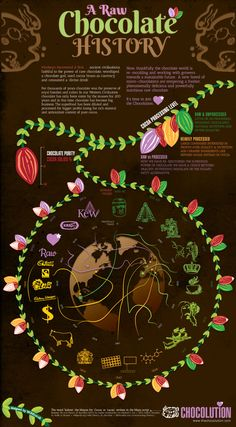 The Wheel of #Chocolution - Find out more about #chocolate in this #infographic - http://www.finedininglovers.com/blog/food-drinks/chocolate-history-infographic/