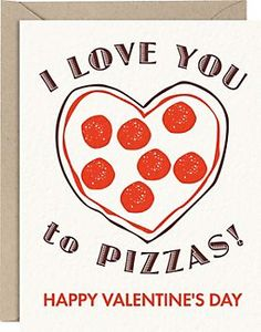 Gift idea for Valentines Day for college student.  Add a pizza gift card.