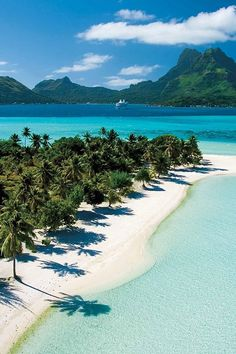 20 Most Beautiful Islands in the World - Travel Den - Tahiti, French Polynesia - Vacation Places, Dream Vacations, Vacation Spots, Places To Travel, Places To See, Travel Destinations, Romantic Vacations, Italy Vacation, Romantic Travel