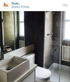 Idéias Internet - banheiro - cimento queimado