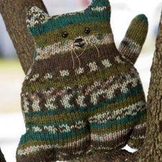 Mr. Whiskers cat knitting pattern, #knitting