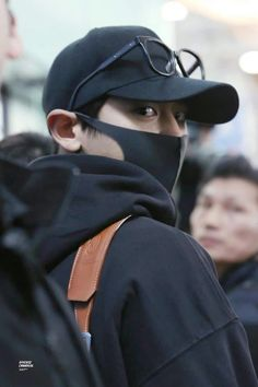 Chanyeol - 180209 Incheon Airport, departing for Taipei Credit: Diverse Chan. Luhan, Chanyeol Cute, Park Chanyeol Exo, Kpop Exo, Exo K, Kai, Rapper, Exo Members, K Idol