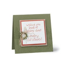 Christmas Stampin Up card