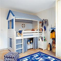 fun bunk bed unit