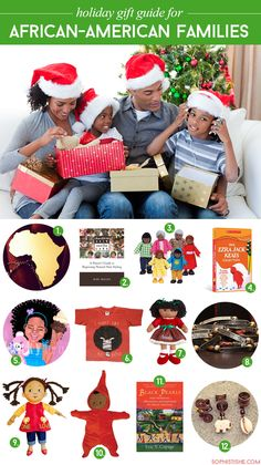 Holiday Gift Guide For African-American Families via @sheenatatum