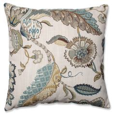 Pillow Perfect Finders Keepers Cotton Throw Pillow & Reviews | Wayfair Supply