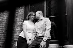 Fort Worth engagement session, modern, black and white, Dallas engagement photography by Dallas wedding photographer Monica Salazar