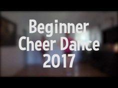 Beginner Cheer Dance Tutorial 2017 - YouTube Cheer Coaches, Cheer Stunts, Cheer Mom, Cheerleading Pom Poms, Cheer Pom Poms, Cheer Pyramids, Cheer Dance Routines, Youth Cheer, Varsity Cheer