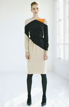 color block dress - Preen, PF2012 collection - via @kennymilano
