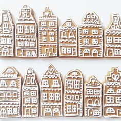 Close up of my Amsterdam gingerbreads from last week!