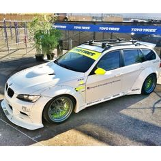 Superstreet #BMW #SEMA #Wagon