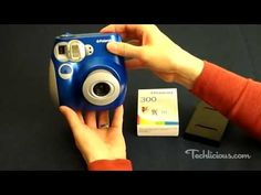 Review of the Polaroid 300 Instant Film Camera - YouTube