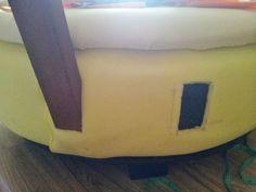 Reutiliza un viejo neumático y conviértelo en un cómodo asiento para tu hogar.