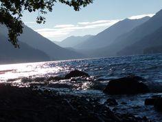 Crescent Lake on the Olympic Peninsula in Washington