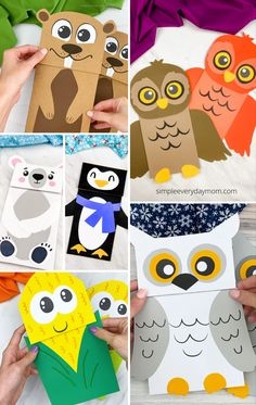 If your child loves pretend play, they will love creating these paper bag puppet crafts! They all come with free printable templates so they're easy to re-create at home or at school. Make animals and more! Scarecrow Crafts, Fox Crafts, Puppet Crafts, Printable Templates, Free Printable, Printables, Fall Crafts For Kids, Xmas Crafts, Frankenstein Craft