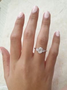 Obsessed with three stone rings? This oval with pear shaped diamonds is the perfect combination! Unique Diamond Rings, Oval Diamond, Unique Rings, Emerald Rings, Ruby Rings, Uncut Diamond, Dream Engagement Rings, Princess Cut Engagement Rings, Popular Engagement Rings