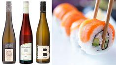 De beste vinene til sushi
