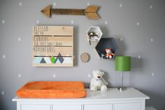 Project Nursery - Adventure Themed Gallery Wall