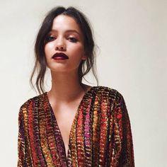 "228 Likes, 4 Comments - Rituel de Fille (@ritueldefille) on Instagram: ""Fortune Teller Forbidden #Lipstick // #makeupartist @dianedasilvamakeup used our deepest, darkest,…"""